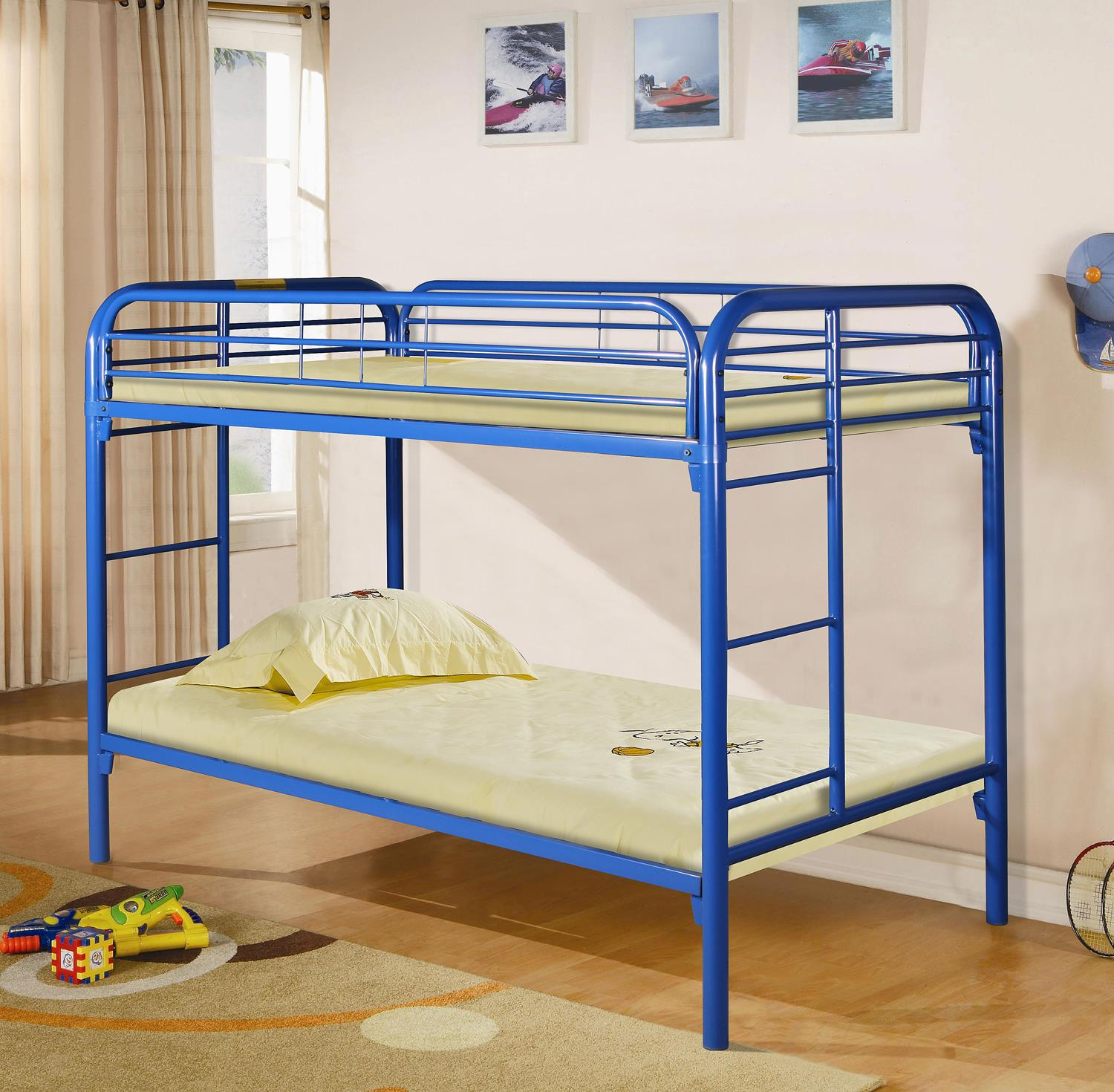 Metal Twin Bunk Bed