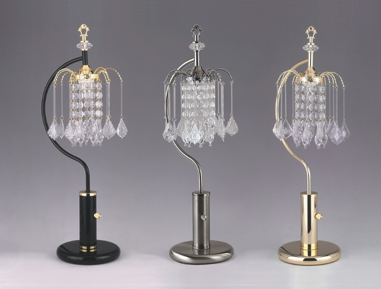 One Chandelier Table Lamp