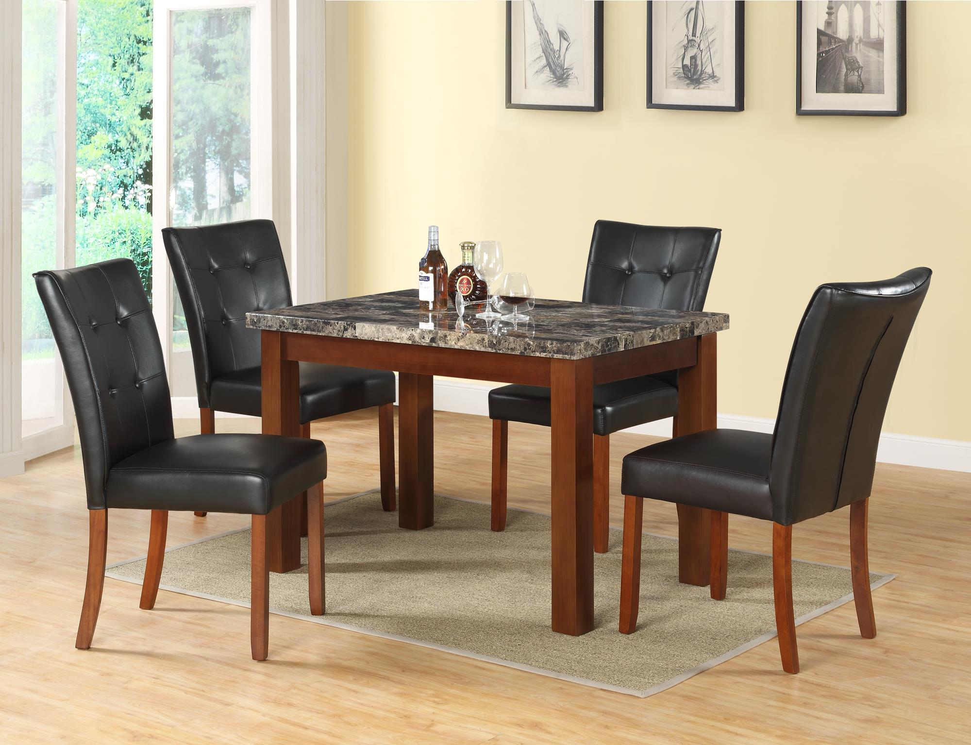 Brown Dinette Set