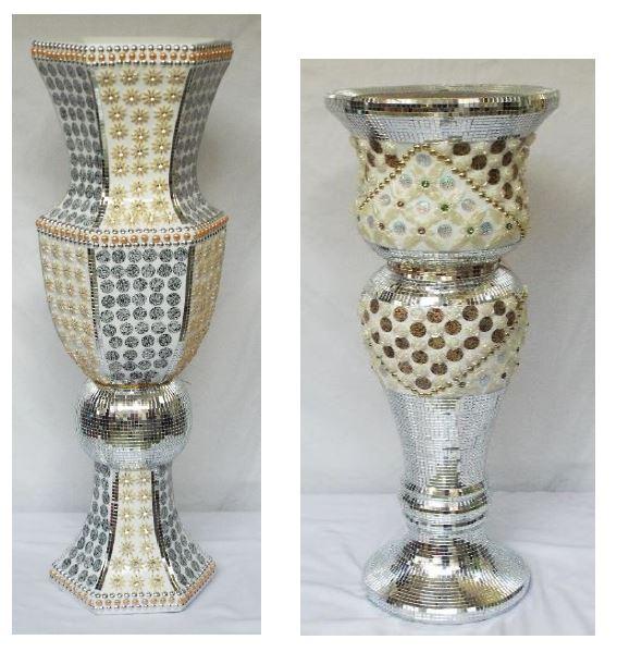 Two Style Floor Vases