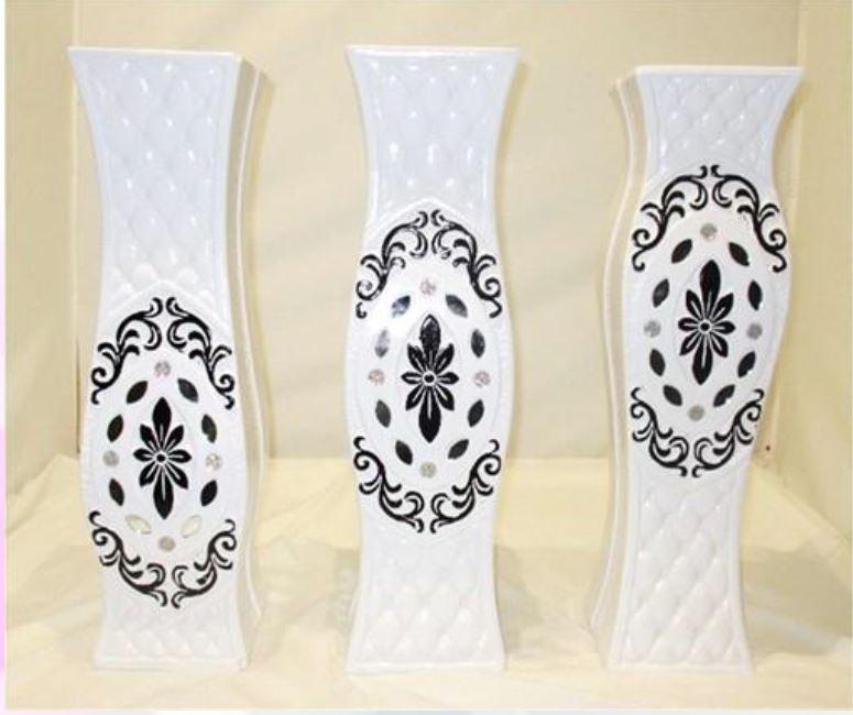 Three Decor Vases