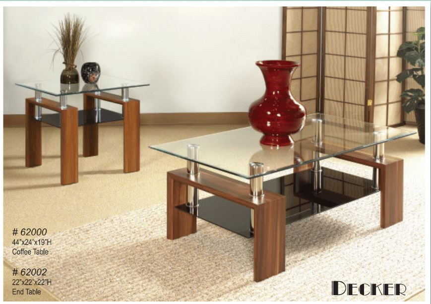 Coffee Table with one end table