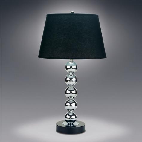 Black Shade Table Lamp